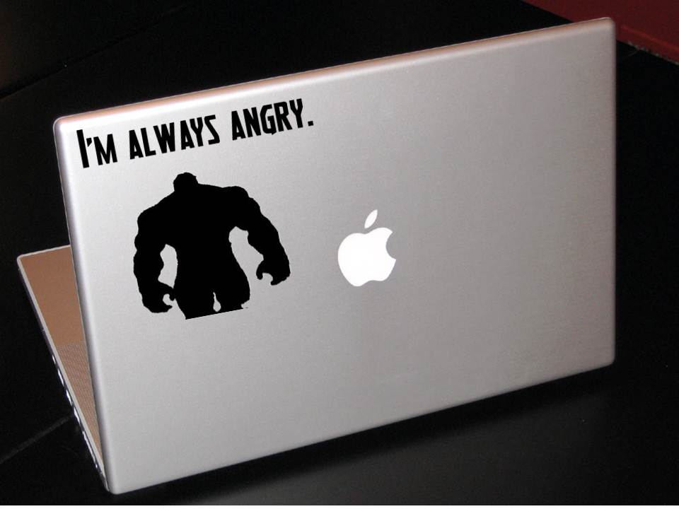 Hulk Laptop Decal