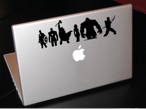 Assembled Avengers decal