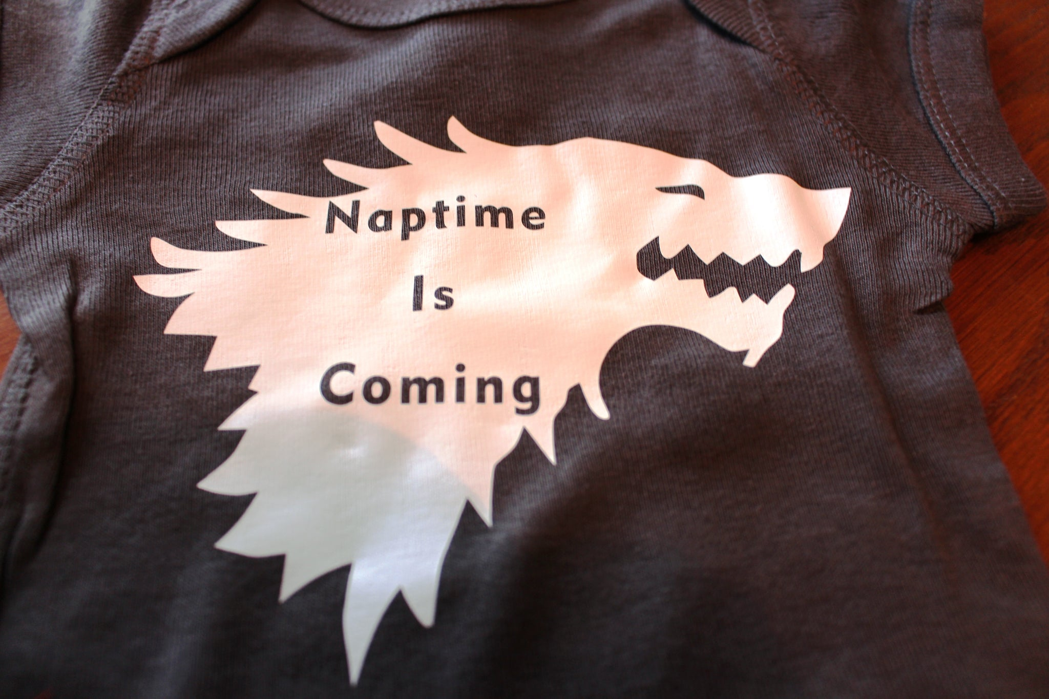 Naptime Is Coming Baby Onesie