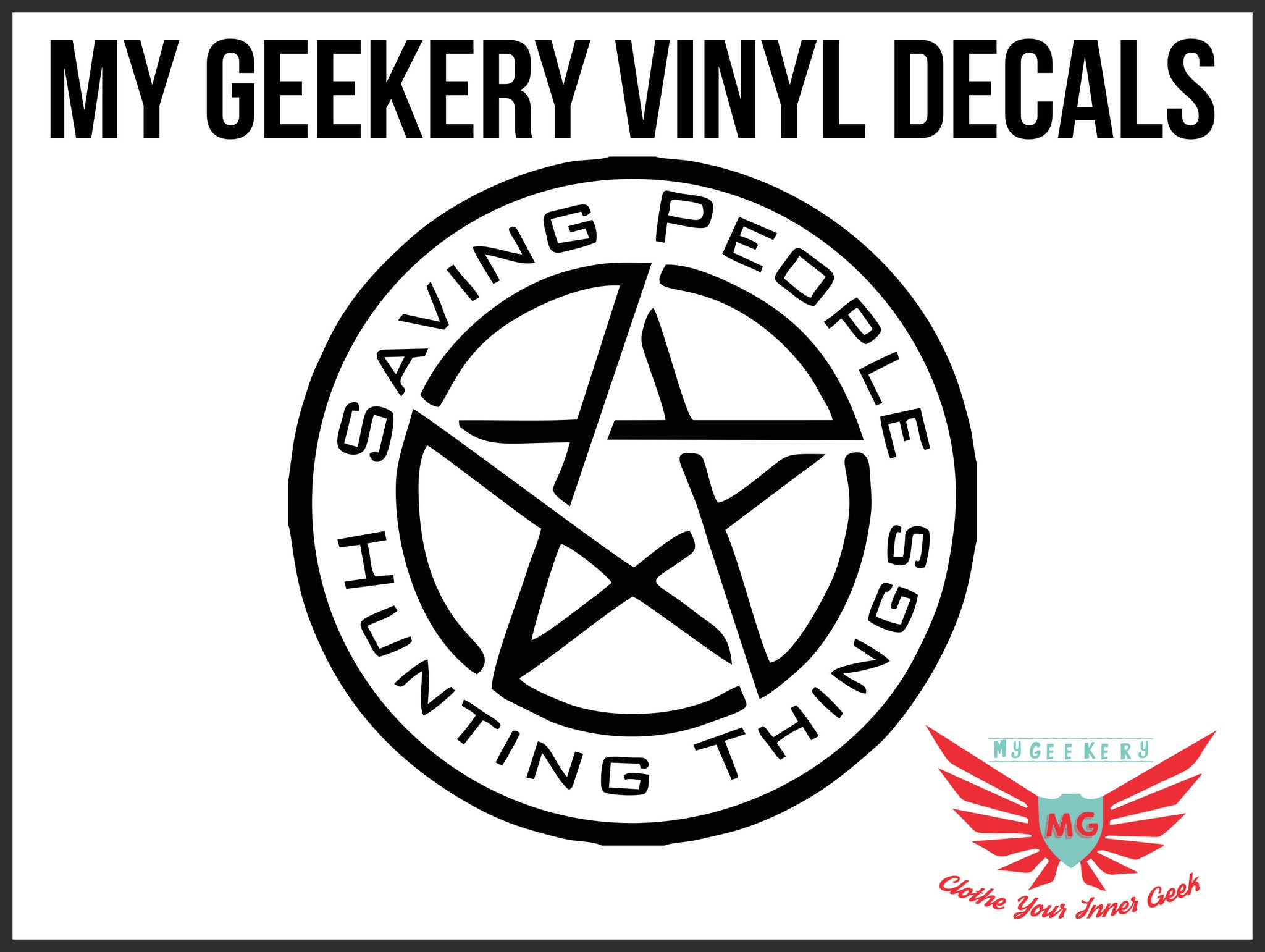 Supernatural Decal