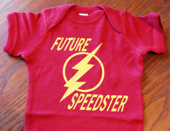 Future Speedster The Flash Onesie