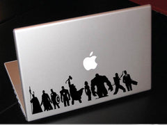 Avengers Decal Black