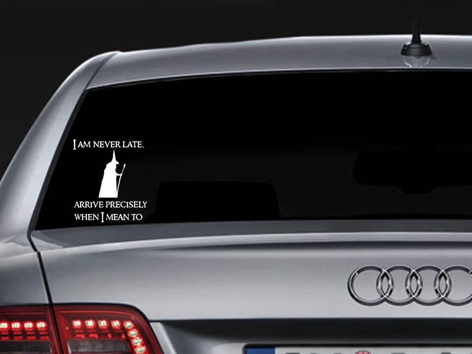 Gandalf Car Decal