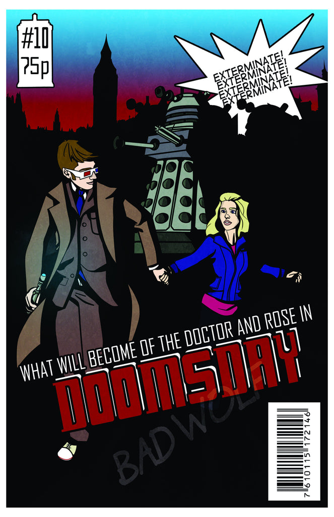 Doctor Who: Doomsday poster