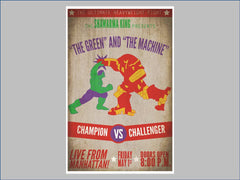 The Green vs. The Machine poster