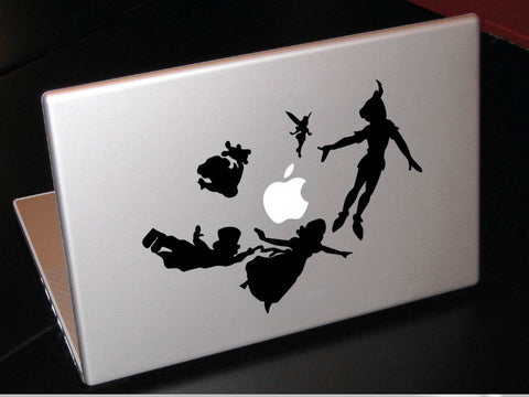 Off to Neverland decal