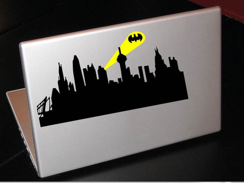 Gotham City Laptop Decal