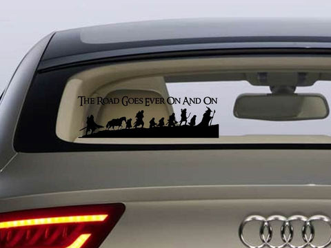Geeky Car decals