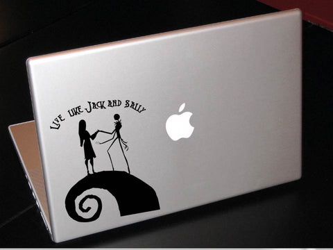 Live like Jack and Sally decal