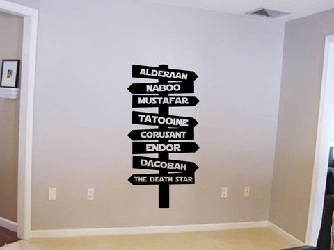 Star Wars Sign Wall Art
