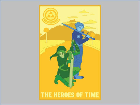 The Heroes of Time poster