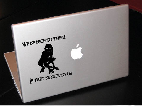 Gollum decal