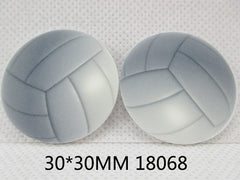 1 Piece -  Volleyball Flat RESIN  Ball Sports - Approx. 30mm