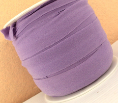 1 Yard -  7/8 inch ELASTIC  - LIGHT PURPLE