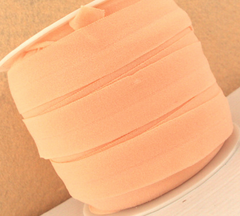1 Yard -  7/8 inch ELASTIC  - LIGHT PEACH