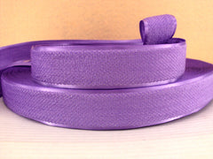1 Yard - 1 inch PURPLE Velvet-like with satin edge- velvet - reversible- same on both sides Ribbon.