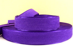 1 Yard - 1 inch ROYAL PURPLE Velvet-like with satin edge- velvet - reversible- same on both sides Ribbon.