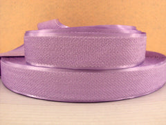 1 Yard - 1 inch LIGHT PURPLE Velvet-like with satin edge- velvet - reversible- same on both sides Ribbon.
