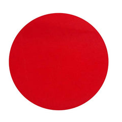 "9"" Round Tulle Circles - Set of 25 pieces -  COLOR: RED"