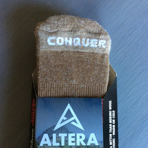 Conquer Alpaca Over-the-Calf Socks