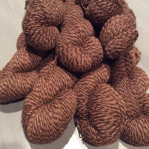 Barber Pole Twist Alpaca Merino Blend Fingering Weight Yarn