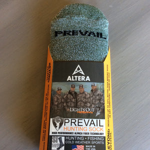 Prevail Hunting Socks, Crew Length