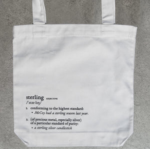 Cream Sterling Definition Tote