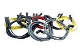 Dyna Wires - Black silicone 7mm