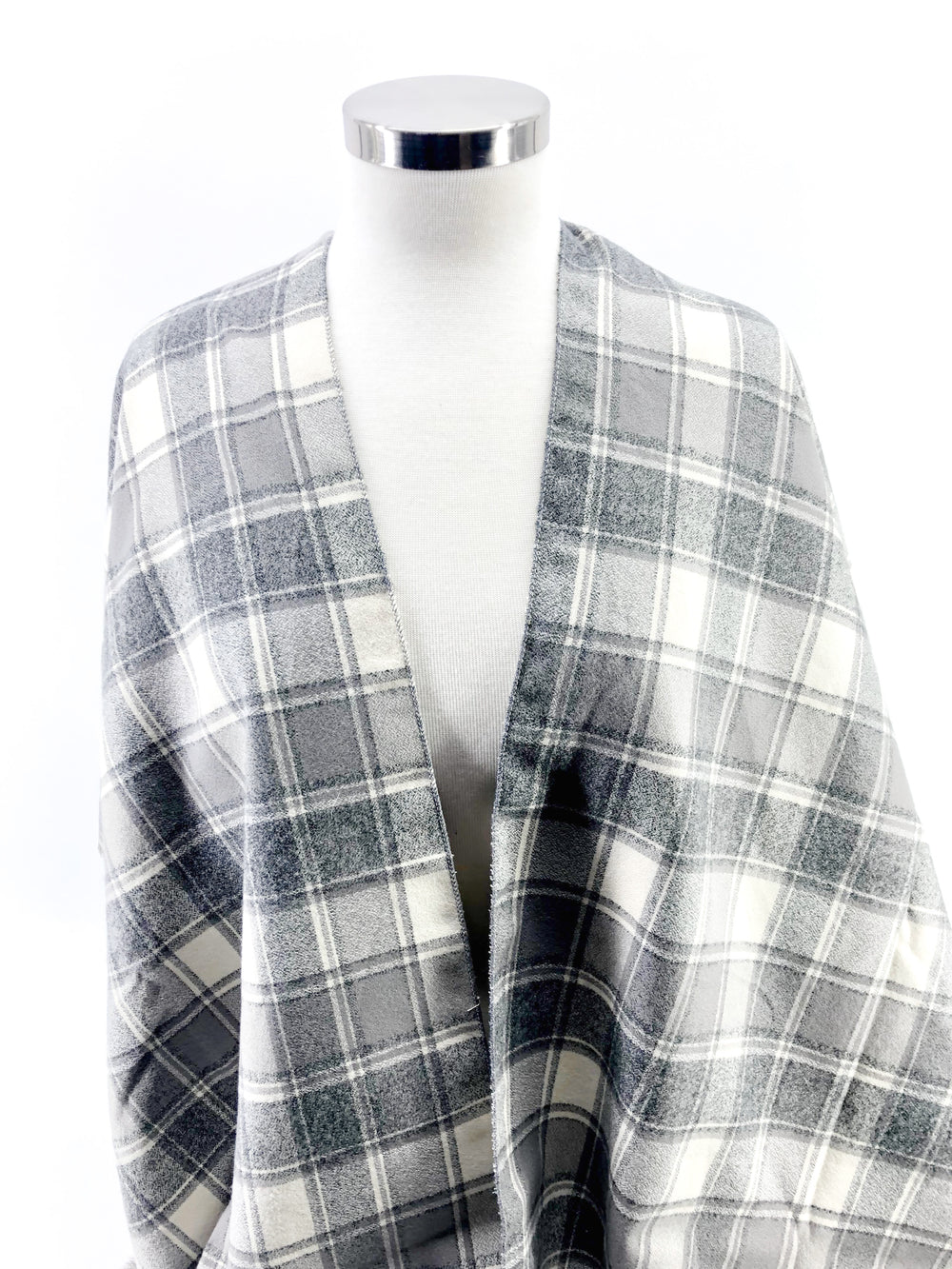 Gray & Cream Plaid