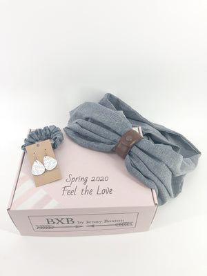 Limited Edition- Spring Cuffed Scarf Box