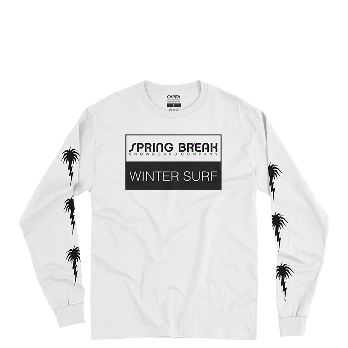 Spring Break Wintersurf LS Tee