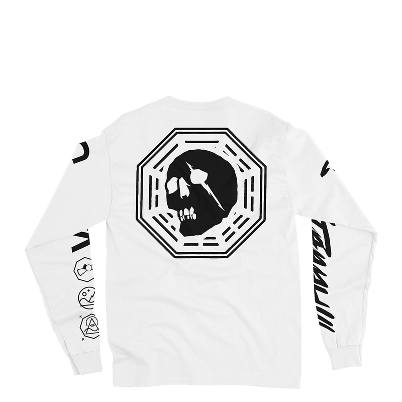 Factory Long Sleeve Tee White