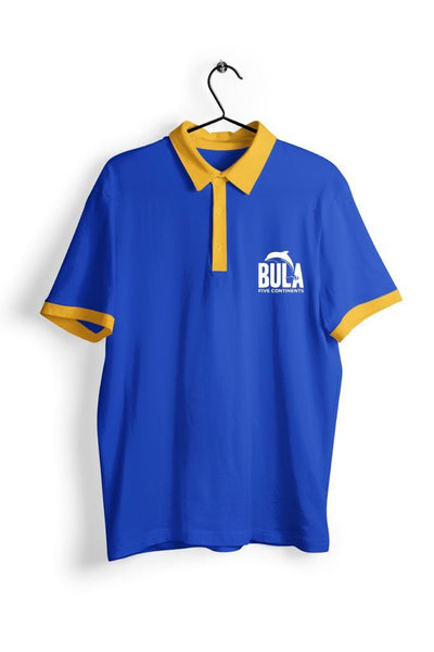 Five Continents Blue and Yellow Polo