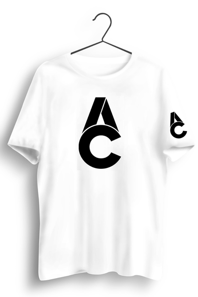 AC Logo Tshirt - Chest and Sleeve Print