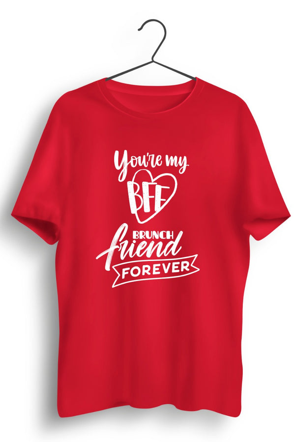 BFF Red Tshirt
