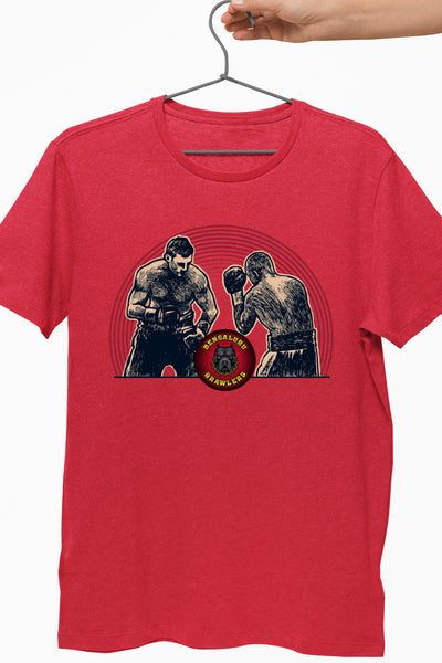 Bengaluru Brawlers Boxing Red Tshirt