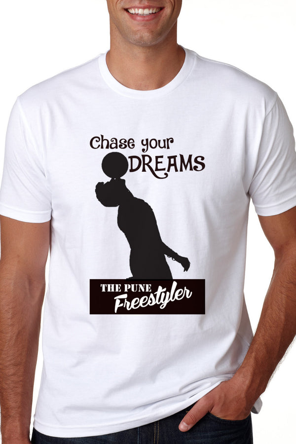 Chase Your Dreams White Tshirt