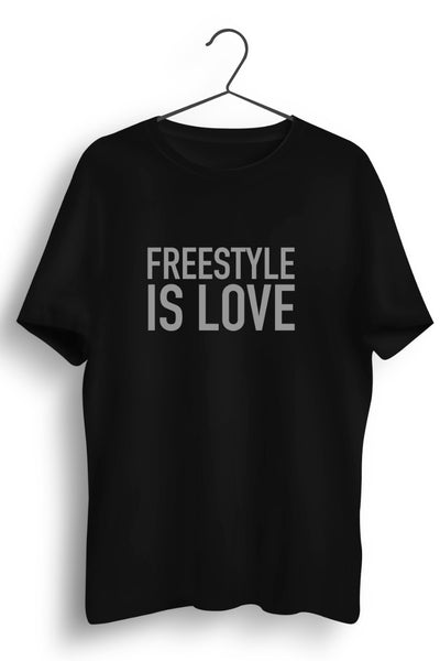 Freestyle Is Love Black Tshirt