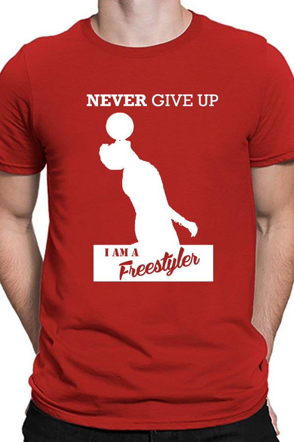 I am a Freestyler Red Tshirt