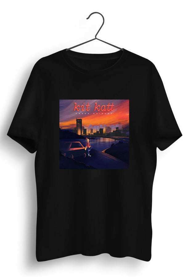Kit Katt album cover Black Tshirt