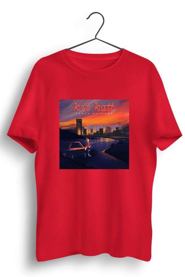 Kit Katt album cover Red Tshirt