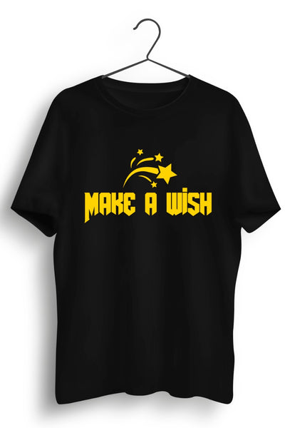 Make a wish printed Tshirt