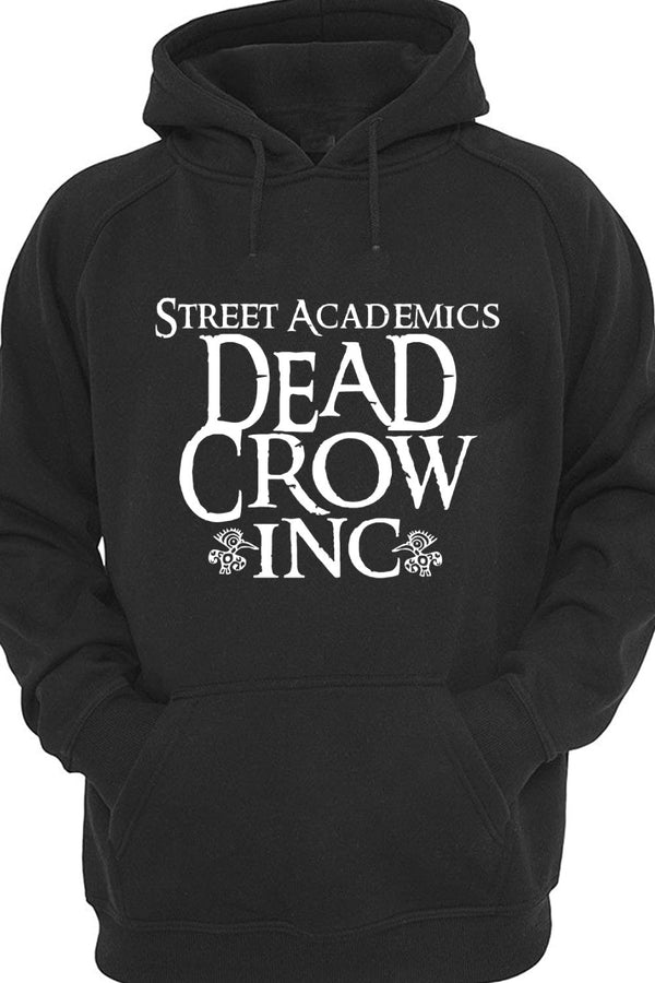 Dead Crow Inc Black All Weather Hoodie