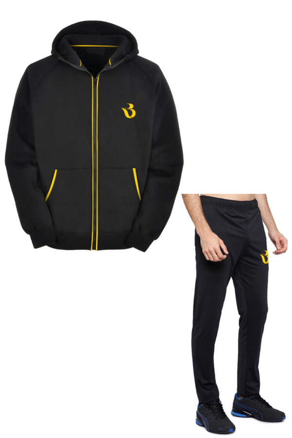 Hoodie and Track Pant Combo