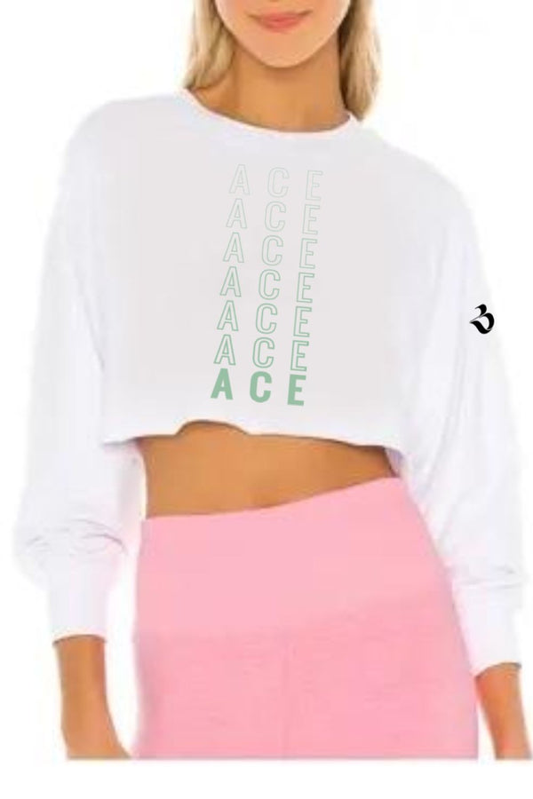 Full Sleeve Womens Crop Top