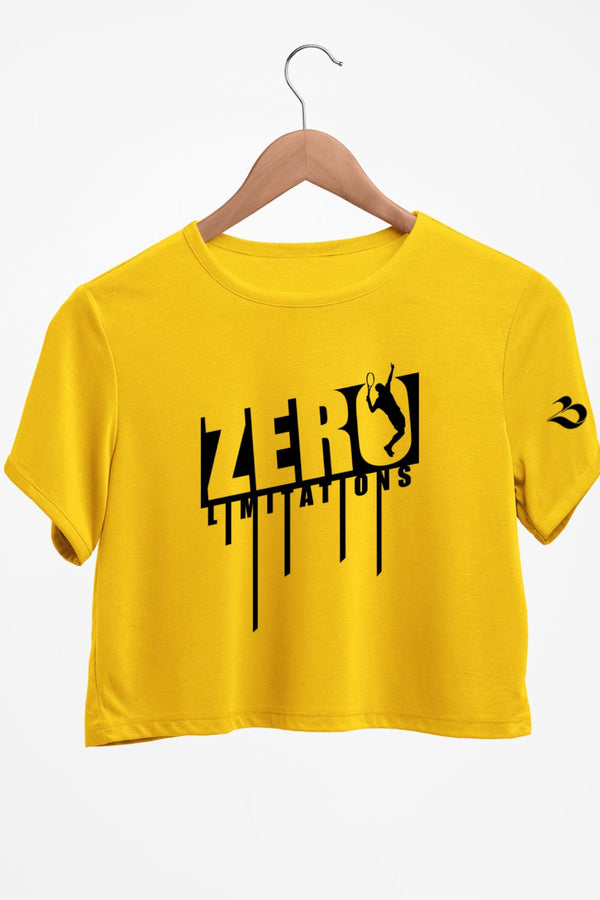 Zero Limits Graphic Printed Crop Top