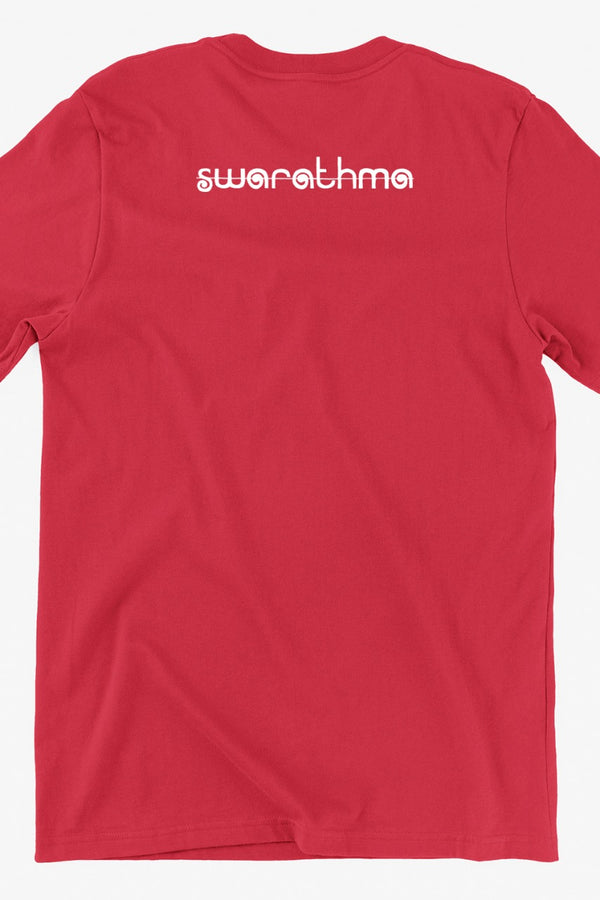 Mushkil Mein Jeena Girl Graphic Red Tshirt