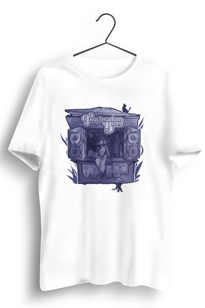 TSB purple logo White Tshirt