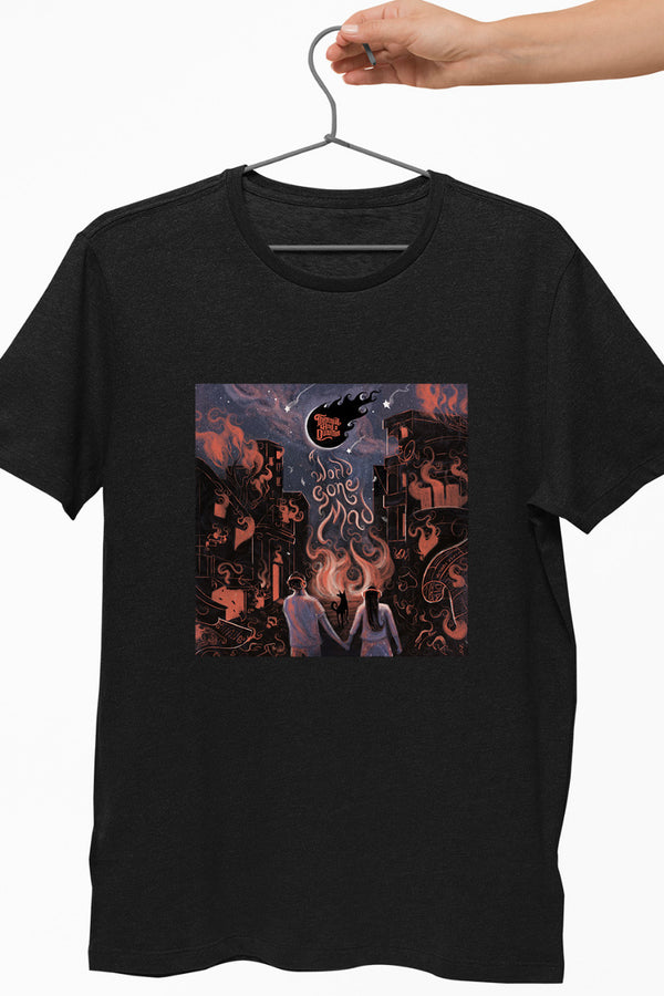 TAAQ - A World Gone Mad Black Tshirt
