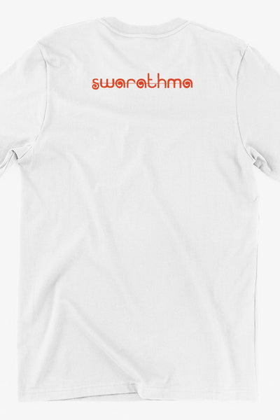 Mushkil Mein Jeena Girl Graphic White Tshirt